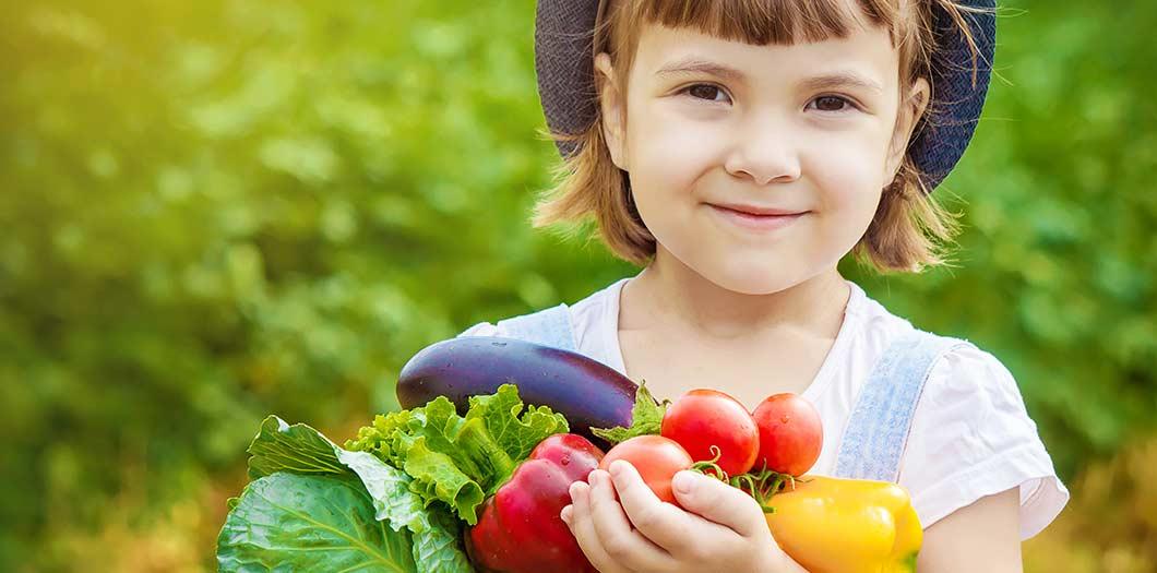Das alphabetische Obst- und Gemüse-ABC