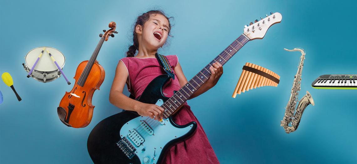 Musikinstrumente selbst basteln