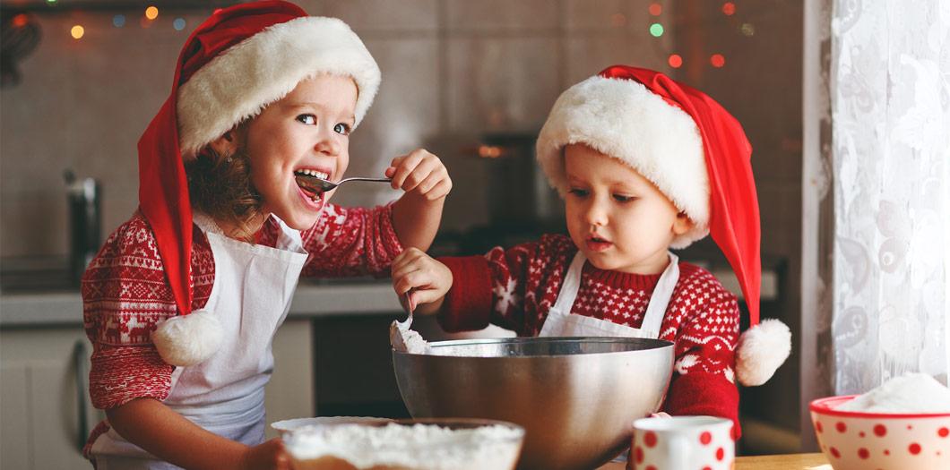 Süße und leckere Weihnachtsleckereien