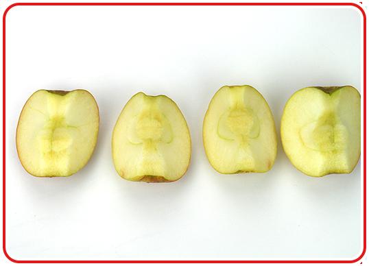 Step 3 - Apfel-Waffel-Schiffchen