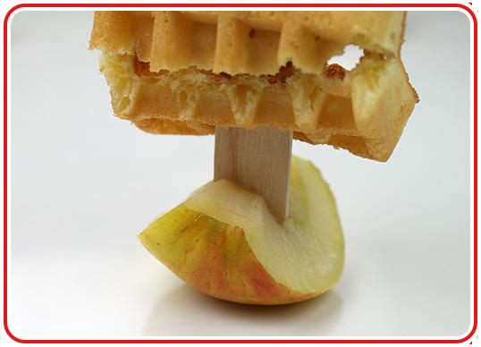 Step 4 - Apfel-Waffel-Schiffchen