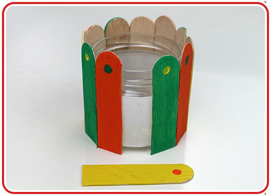 Step 5 - Blumentopf-Upcycling