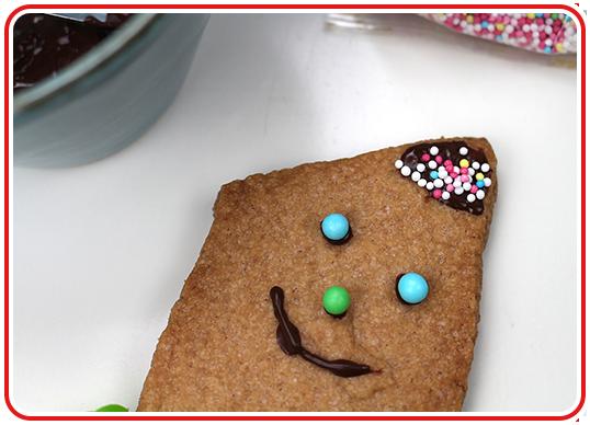 Step 8 - Drachen-Kekse backen