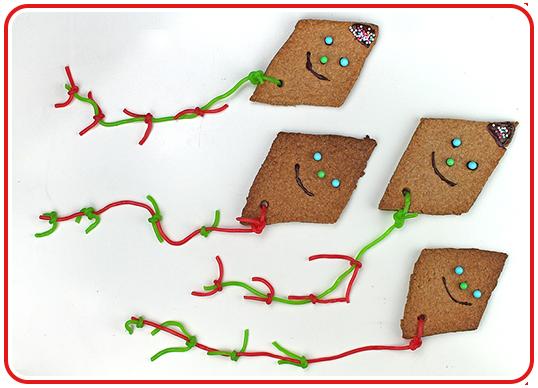 Step 9 - Drachen-Kekse backen