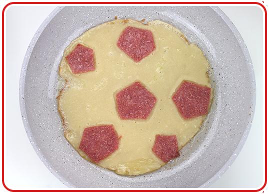 Step 4 - Fußball-Pfannkuchen
