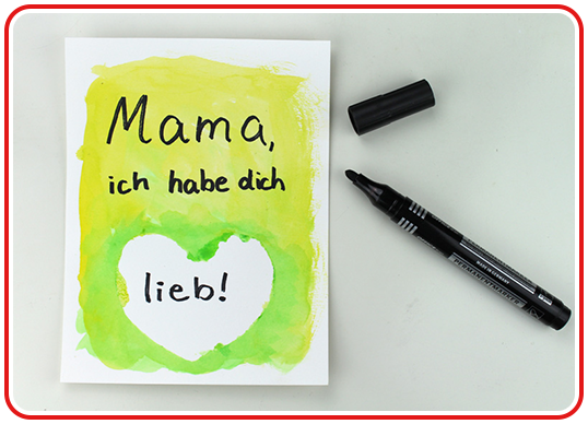 Step 1 - Geschenkideen zum Mutter-/Vatertag