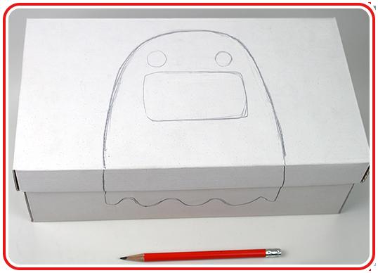 Step 2 - Grusel-Box basteln
