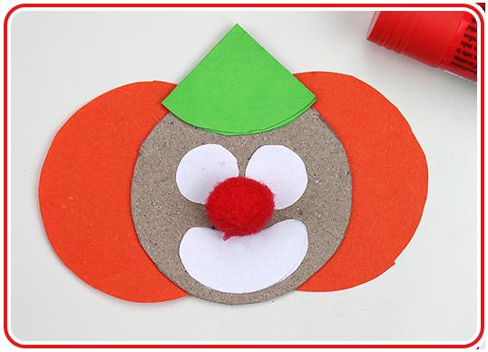Gute-Laune-Clowns selber basteln - Step 10