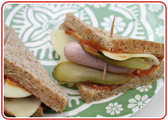 Step 3 - Hotdog-Toast à la Ferdi Fuchs
