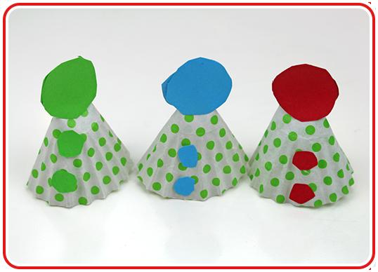 Step 8 - Hütchen-Cupcakes backen