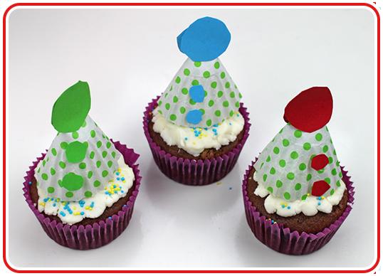 Step 11 - Hütchen-Cupcakes backen