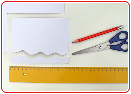 Step 1 - Klorollen-Gespenst: selber basteln