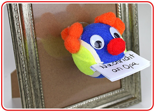Step 5 - Memo-clown selber machen