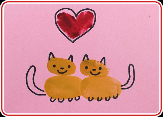 Eine Valentinskarte selber basteln - Step 6