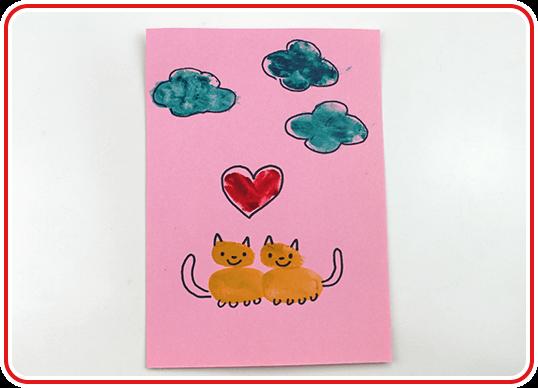 Eine Valentinskarte selber basteln - Step 8