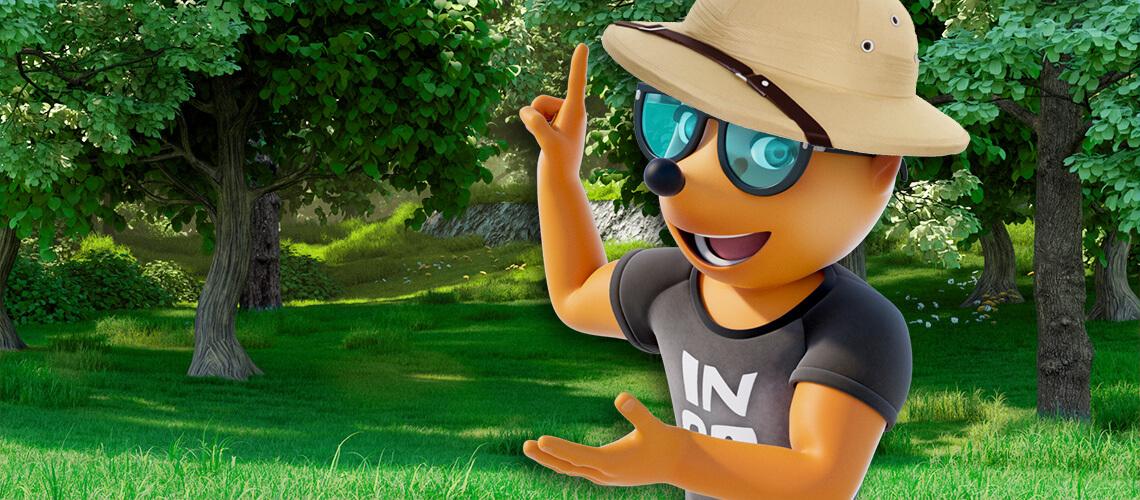 Gartensafari mit Ingo