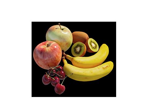 Einen leckeren Pfau-Obstteller selber machen