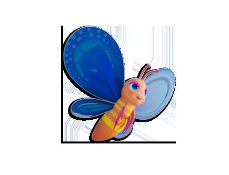Lolli-Schmetterlinge