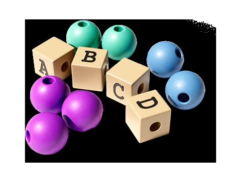 Diese Zutaten benötigst Du für eine Rechen- und Buchstabenkette