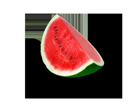Zutaten für eine leckere Wassermelone am Stiel