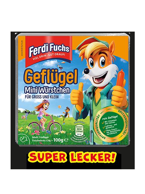 Ferdi Fuchs - Geflügel Mini Würstchen