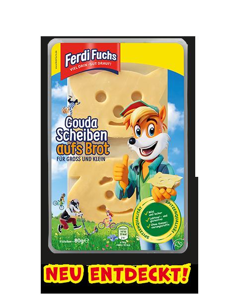 Ferdi Fuchs - Gouda Scheiben aufs Brot