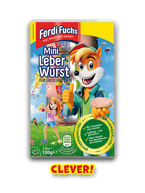 Ferdi Fuchs - Mini Leberwurst