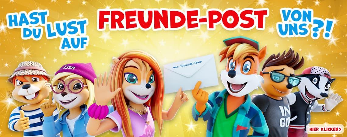 Ferdi Fuchs Freunde Post