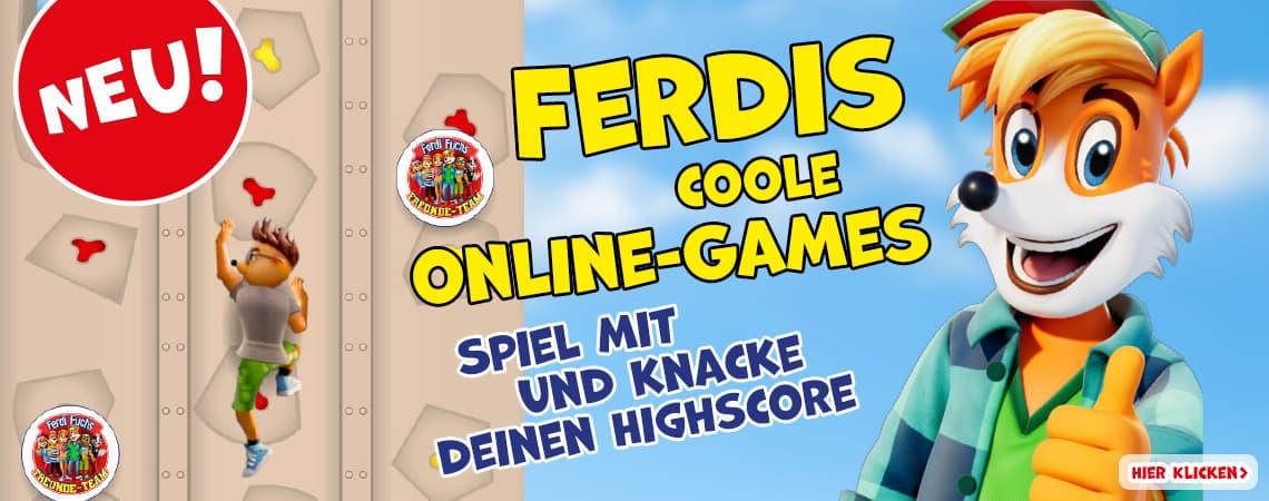 Ferdis coole Online-Games