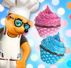 Hütchen-Cupcakes