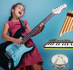 Musikinstrumente selbst machen