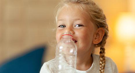 Plastikflaschen-Upcycling
