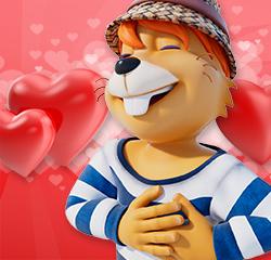 Valentins-Karte